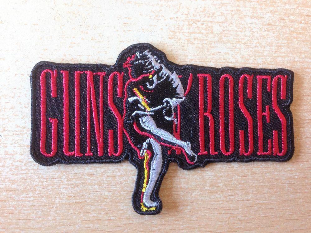 écusson brodé guns n roses use your illusion logo 9,5x6 cm neuf revente ,  Carnon Plage (34280) f7770d2793b