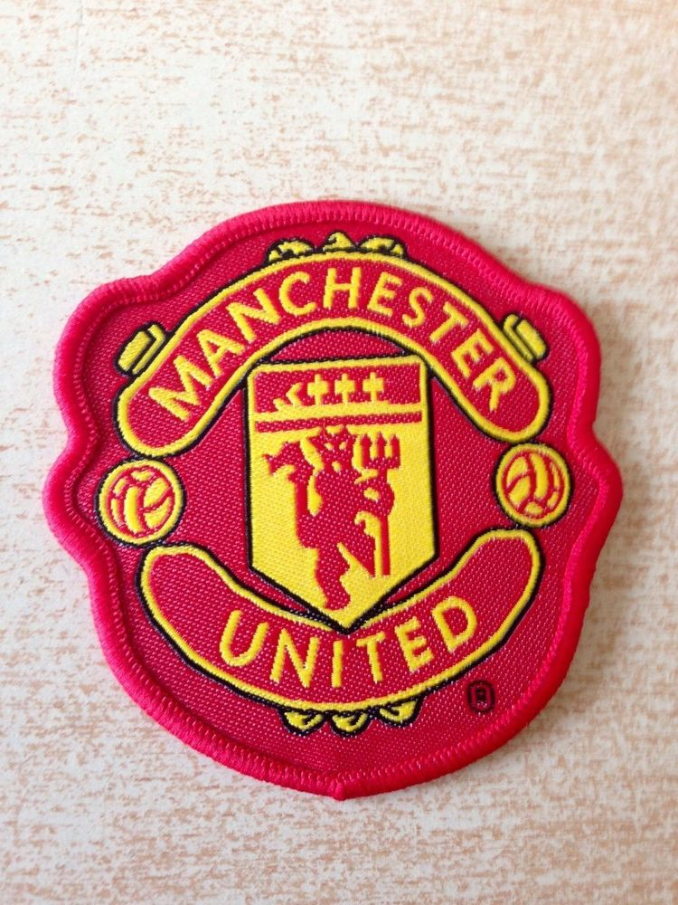 Écusson patch football club Manchester United  5 Carnon Plage (34)