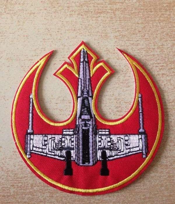 Écusson starwars jedi order red squadron x wing 5 Carnon Plage (34)