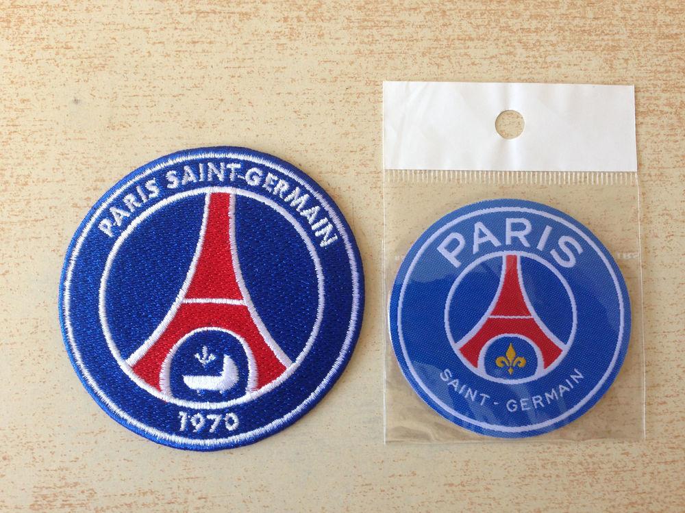 lot de 2 écussons football psg paris saint germain Sports