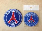 lot de 2 écussons football psg paris saint germain 10 Carnon Plage (34)