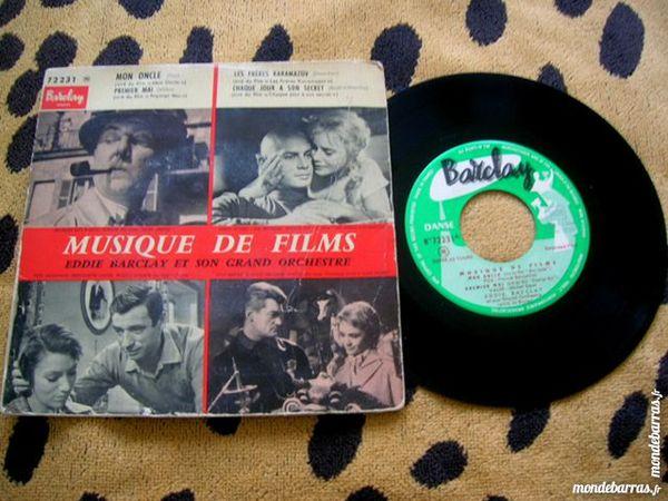 EP EDDIE BARCLAY Musique de films - Mon Oncle CD et vinyles