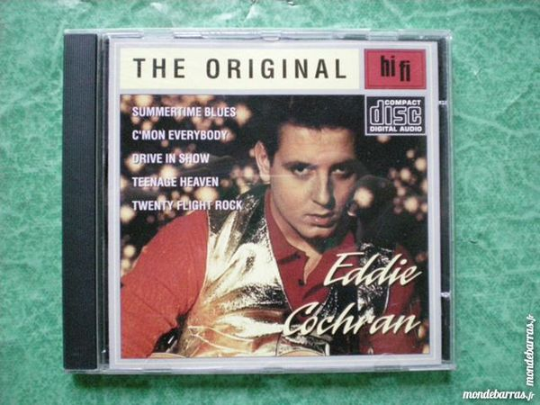 CD Eddie Cochran     Summertime blues     20 t  3 Saleilles (66)