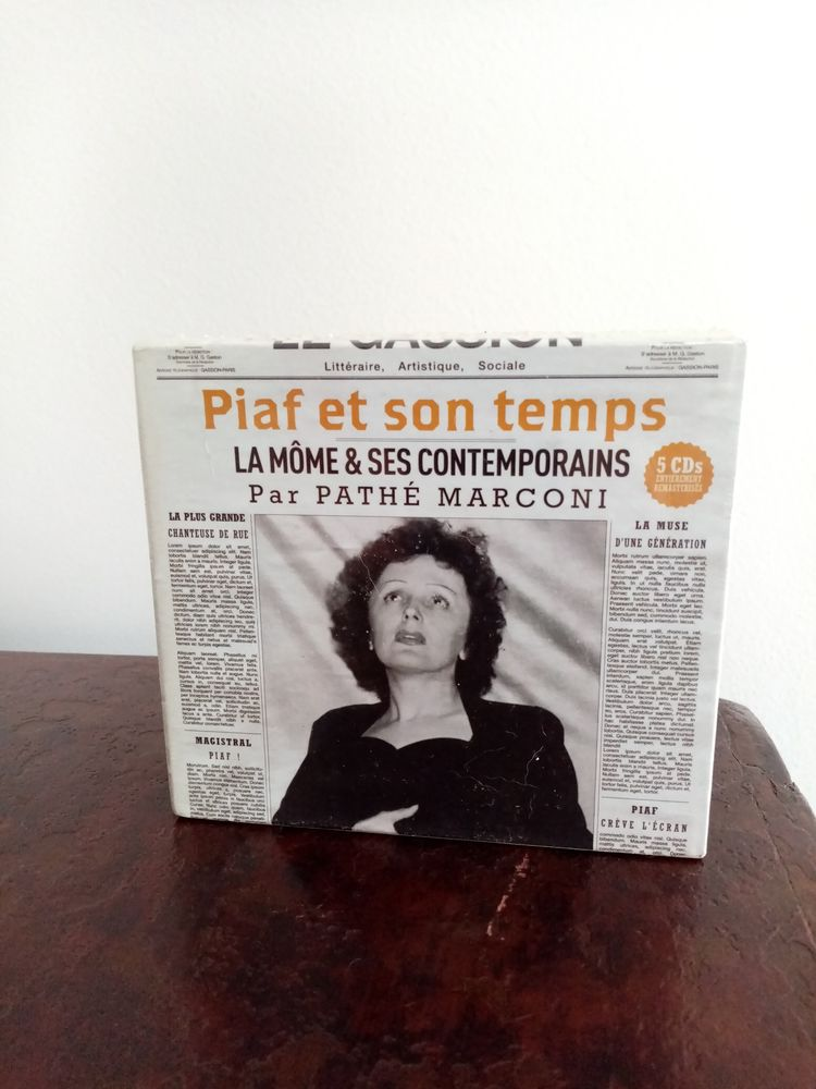 Edith Piaf Compilation 5 CD  Piaf et son temps  25 Saint-Germain-en-Laye (78)