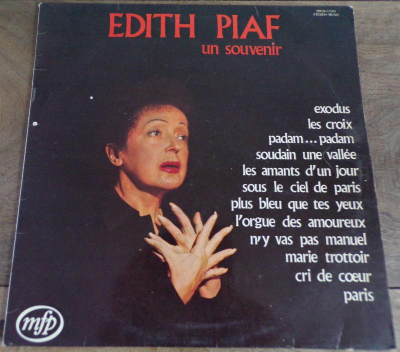 Edith Piaf un souvenir 1973 vinyle disque  4 Laval (53)