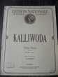 ÉDITION NATIONALE de musique classique KALLIWODA