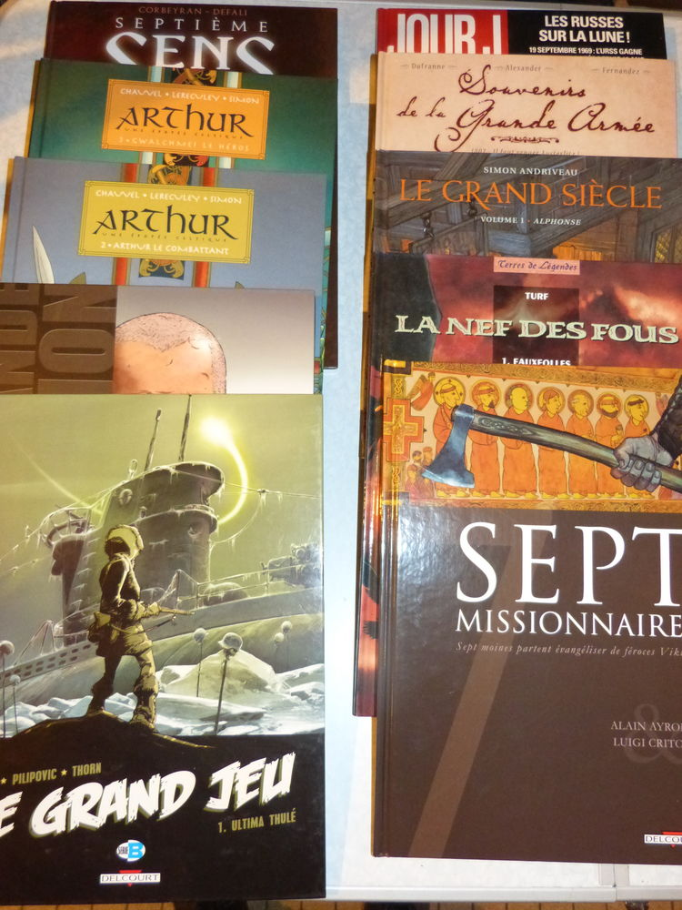 BD editions DELCOURT  liste N° 3 1 Brest (29)