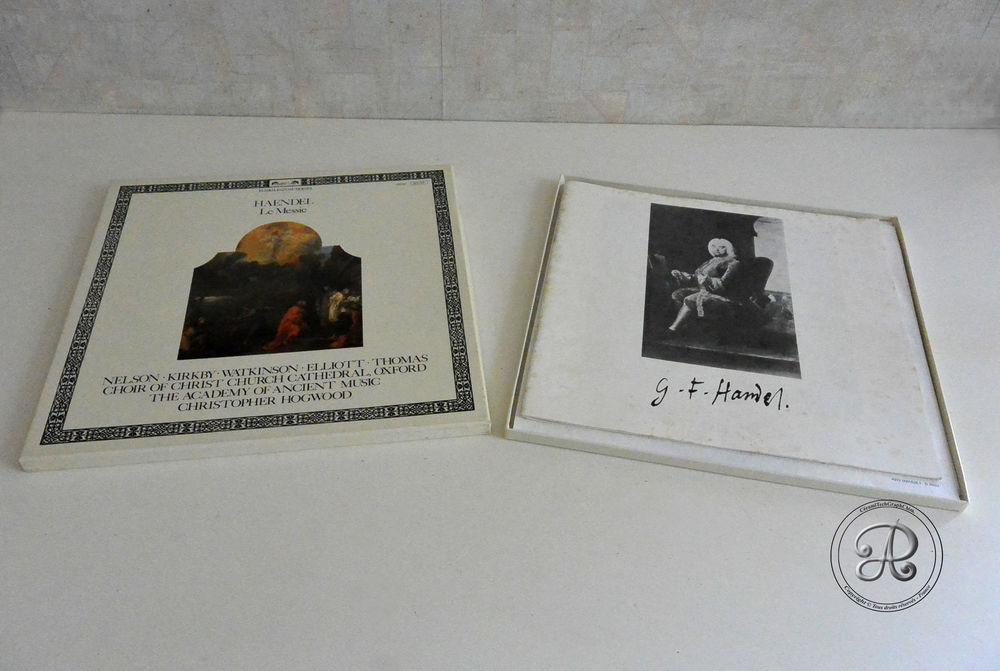 Editions, disques de 33 tours sur Le Messie. 6 Castelnaudary (11)