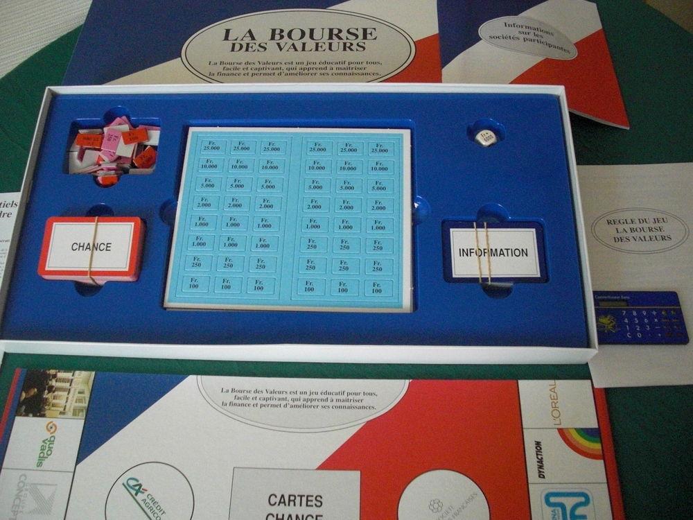 Jeu éducatif - La bourse des valeurs 6 La Garenne-Colombes (92)