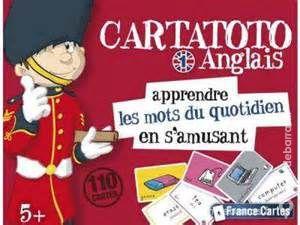 Jeu éducatif : Cartatoto Anglais 1 - apprendre les 10 Bobigny (93)