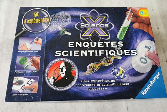 jeu éducatif - Kit expériences  Enquêtes scientifiques  15 Saint-Brevin-les-Pins (44)