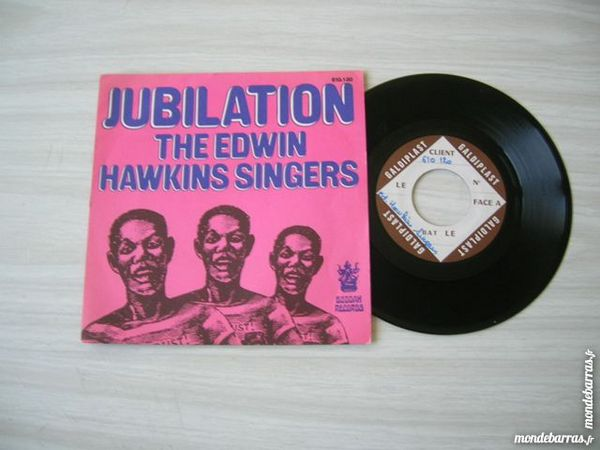 45 T THE EDWIN HAWKINS SINGERS Jubilation - TEST PRESSING 14 Nantes (44)