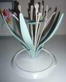 NUK Égouttoir à biberons MultiDry comme neuf design fleur 12 Bonnelles (78)