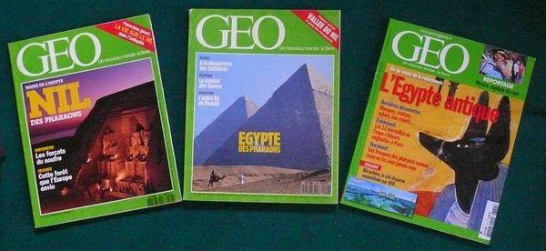 EGYPTE - géo.PHARAONS / prixportcompris 11 Reims (51)