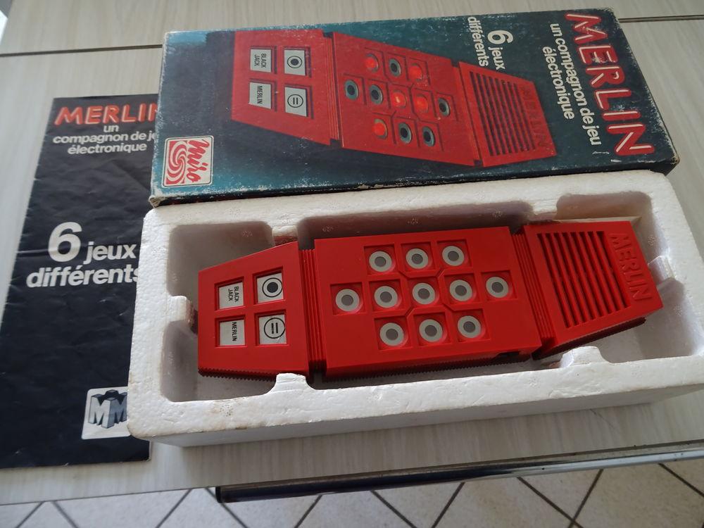 jeu électronique Merlin complet 30 Le Teilleul (50)