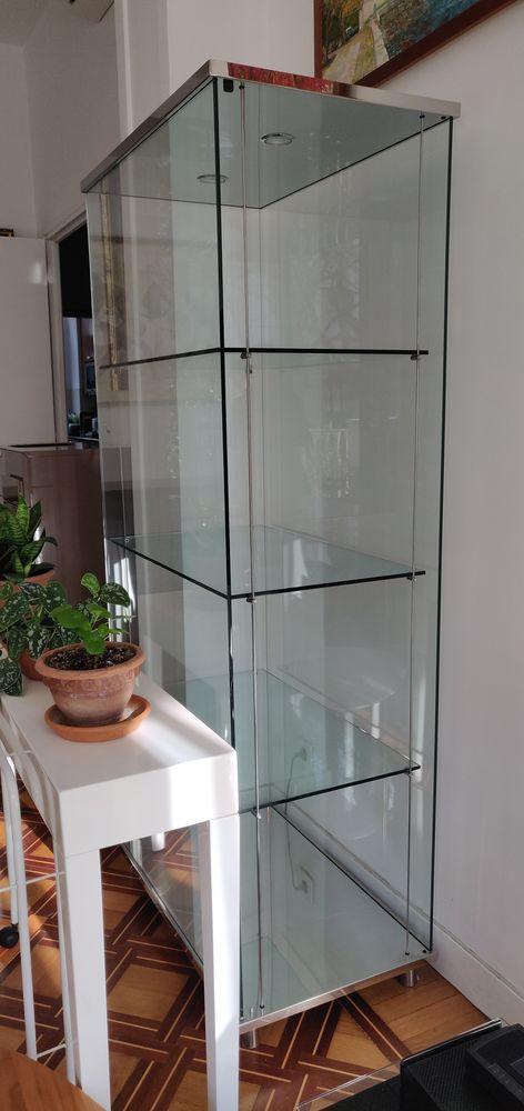 2 Elegants vitrines en verre de Cattelan Italia 1000 Nice (06)