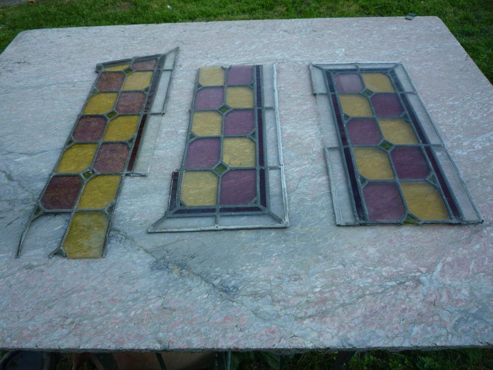 Elément de vitrail/verre soufflé 100 Castres (81)