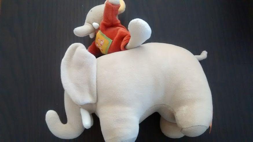 Elephant moulin roty boîte à musique 15 Saint-Jean-Pla-de-Corts (66)