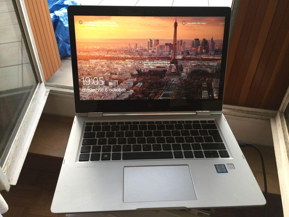 HP EliteBook x360 1030 G2 Core i5 RAM 8 Go SSD 500 Go 680 Paris 15 (75)