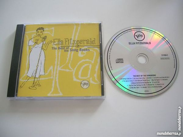 CD ELLA FITZGERALD The Best of the Song Books 10 Nantes (44)