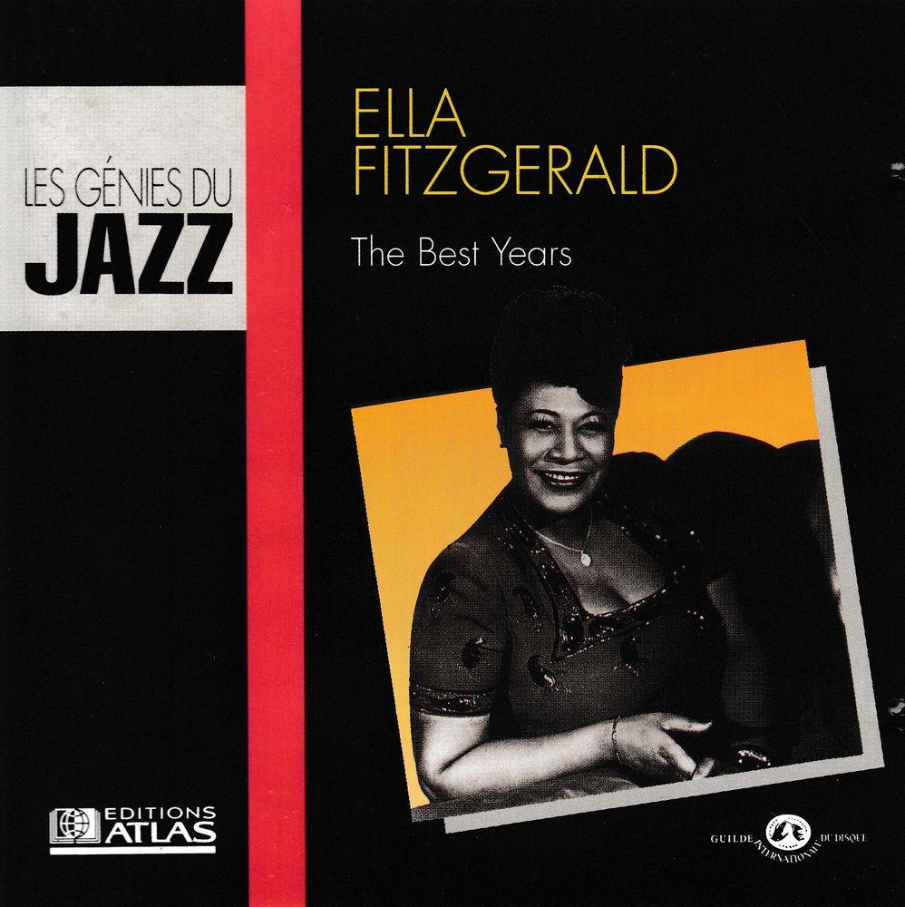 CD    Ella Fitzgerald   -  The Best Years 4 Antony (92)
