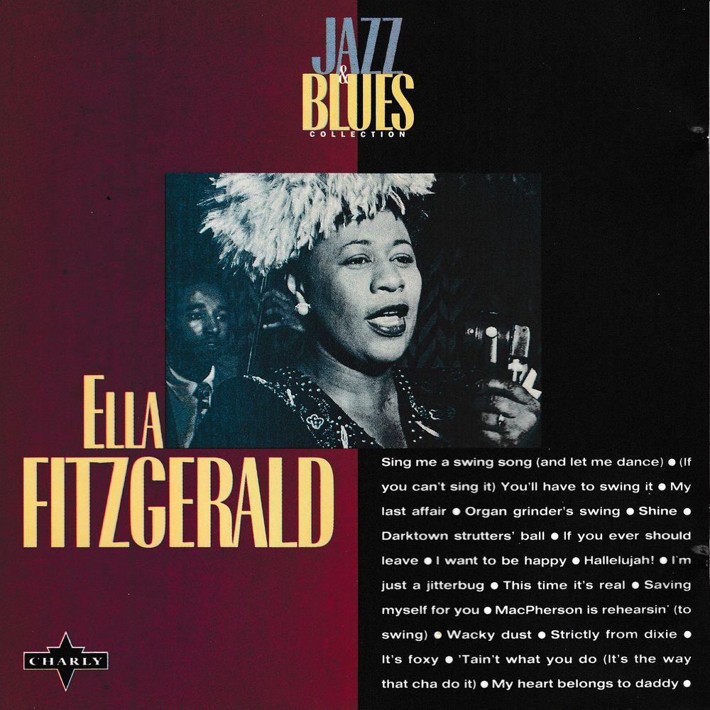 CD    Ella Fitzgerald   -  Jazz & Blues 4 Antony (92)