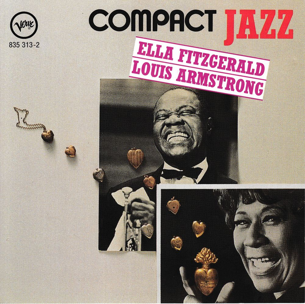 CD Ella Fitzgerald & Louis Armstrong Collection Compact Jazz 5 Antony (92)