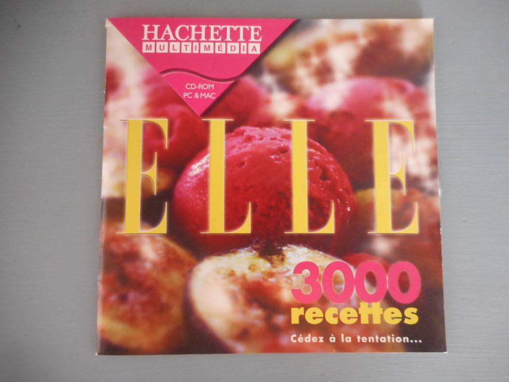 CD Rom  Elle 3000 recettes  6 Nieuil-l'Espoir (86)