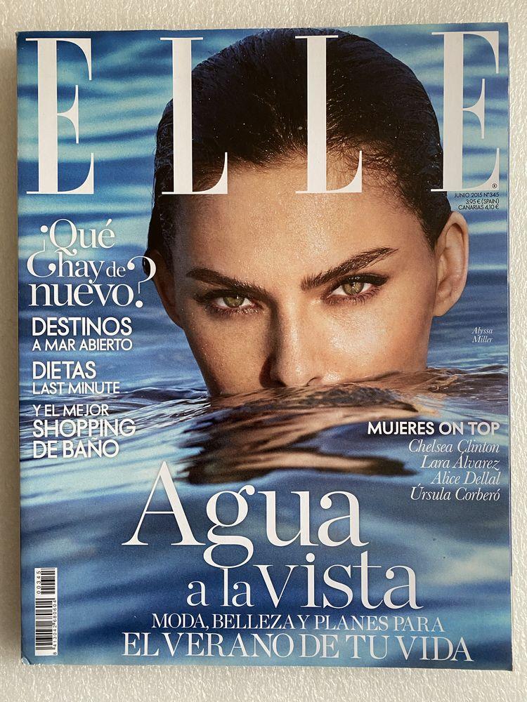 ELLE Espagne Magazine No.345 JUIN 2015 ALYSSA MILLER Livres et BD