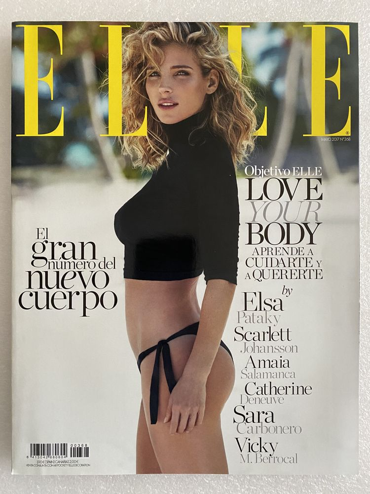 ELLE Espana Magazine No.368 Mayo 2017 - ELSA PATAKY 13 Joué-lès-Tours (37)