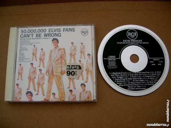CD ELVIS PRESLEY 50.000.000 Elvis Fans can't be 10 Nantes (44)