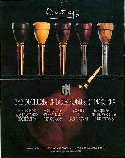 Embouchures pour instruments de cuivres en bois precieux 60 Perpignan (66)