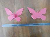 Lot 2 embouts papillon rose tringle rideau chambre enfant 5 Aurillac (15)