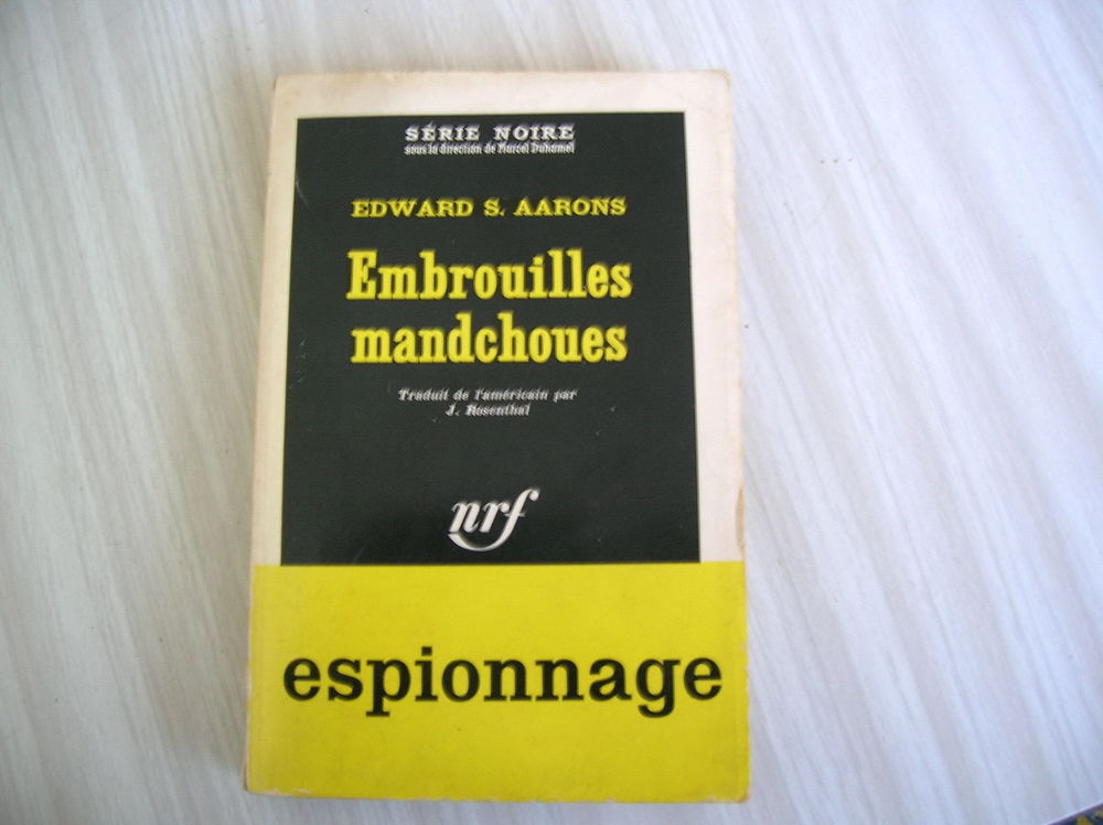 EMBROUILLES MANDCHOUES Aarons, Edward S. 4 Nantes (44)
