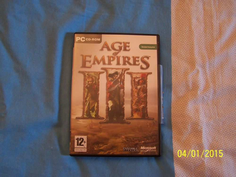 JEU PC AGE OF EMPIRES III COLLECTOR 50 Issy-les-Moulineaux (92)