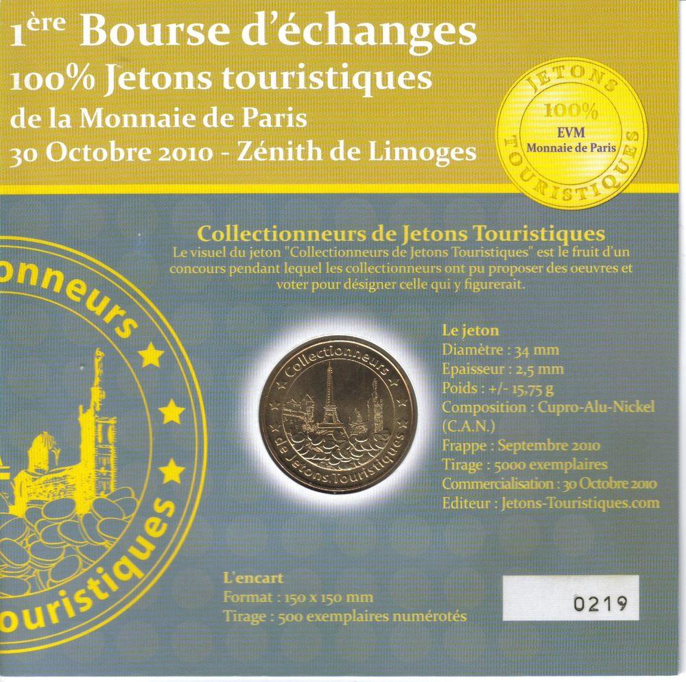 MDP Encart Bourse jeton touristiques 2010 15 Houdemont (54)