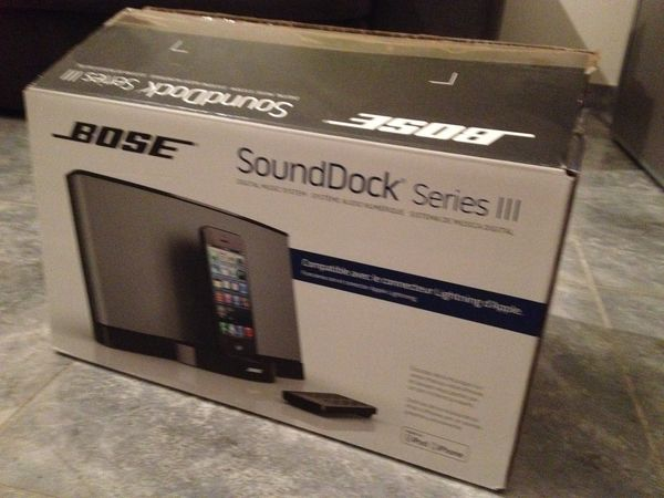 Enceinte pour Iphone Bose Sound Dock Serie III 200 Chambéry (73)