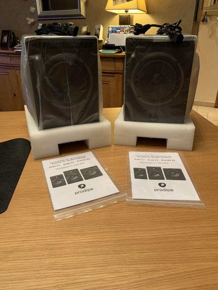 Enceintes Prodipe Pro 5 V3 Neuves Audio et hifi