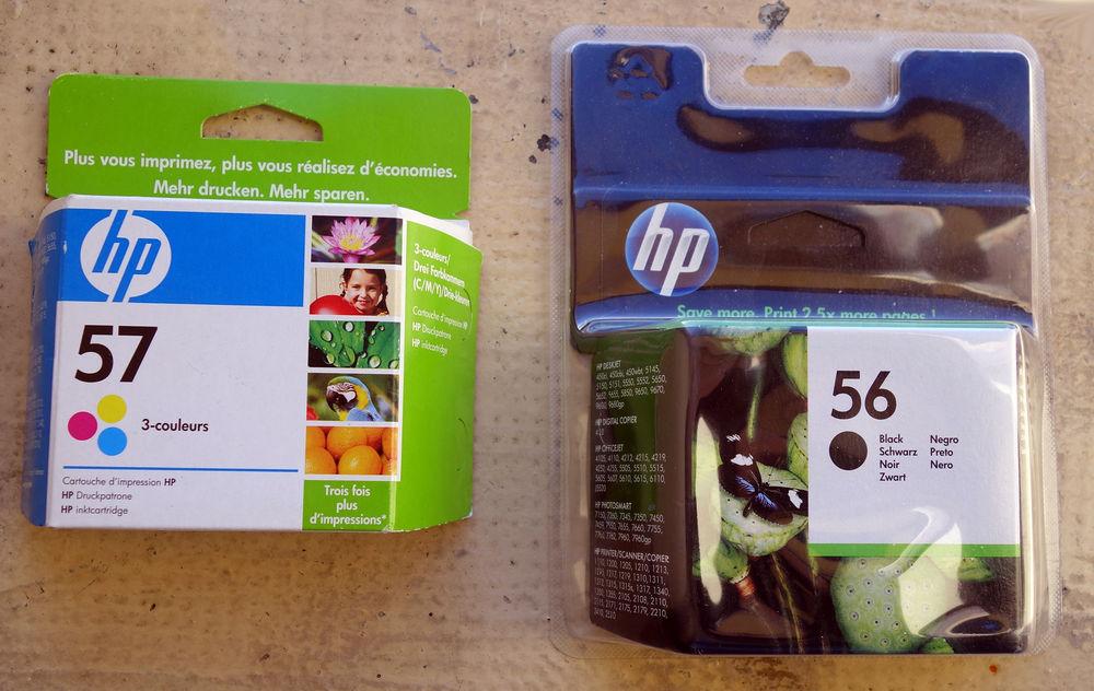 Encres HP 56 et HP 57 authentiques,  sous emballages scéllés 0 Narbonne (11)