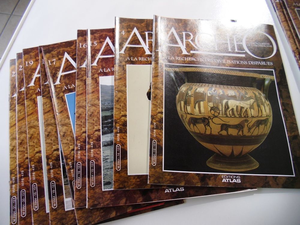 Encyclopédie ARCHEO 100 Mussidan (24)