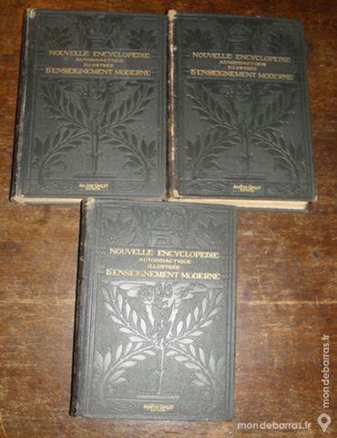 Encyclopédie autodidactique illustrée de 1922 Livres et BD