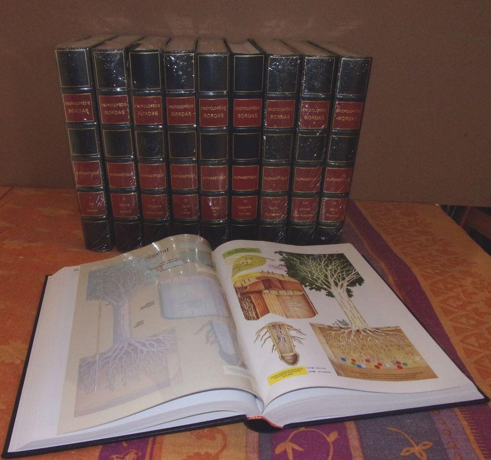 Encyclopédie Bordas 10 tomes Relié  20 Saint-Pathus (77)