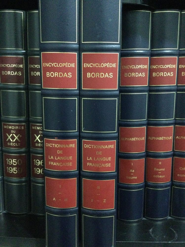 Encyclopédie Bordas 20 Vanves (92)