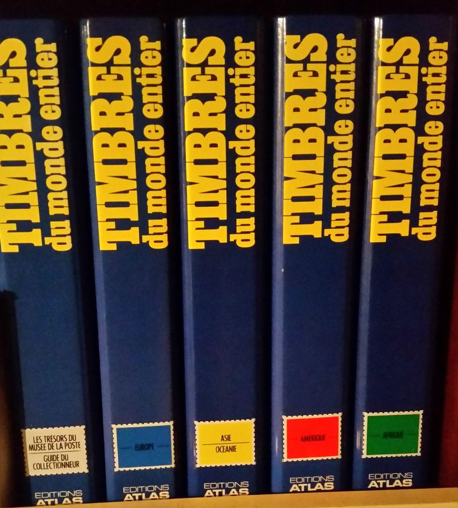 encyclopédie complète Timbres du monde entier édition atlas 0 Brindas (69)