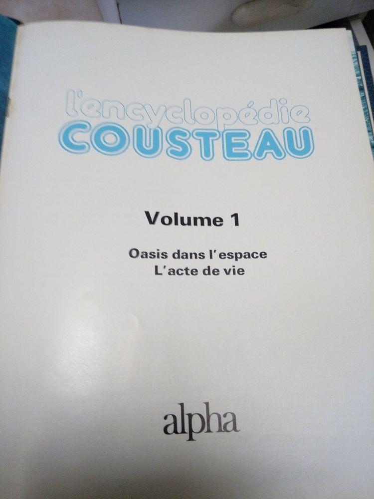 Encyclopédie Cousteau (10 volumes) 60 Le Bar-sur-Loup (06)