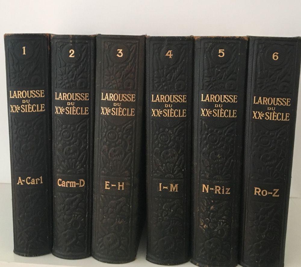 Encyclopédie en 6 volumes Larousse 19 Château-Gontier (53)