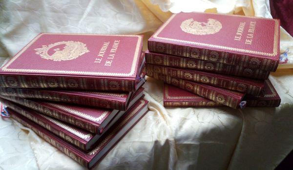 ENCYCLOPÉDIE de 10 VOLUMES RELIES  JULES TAILLANDIER Livres et BD