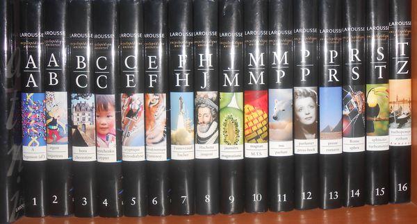 Encyclopédies Larousse 16 tomes 50 Saint-Raphaël (83)