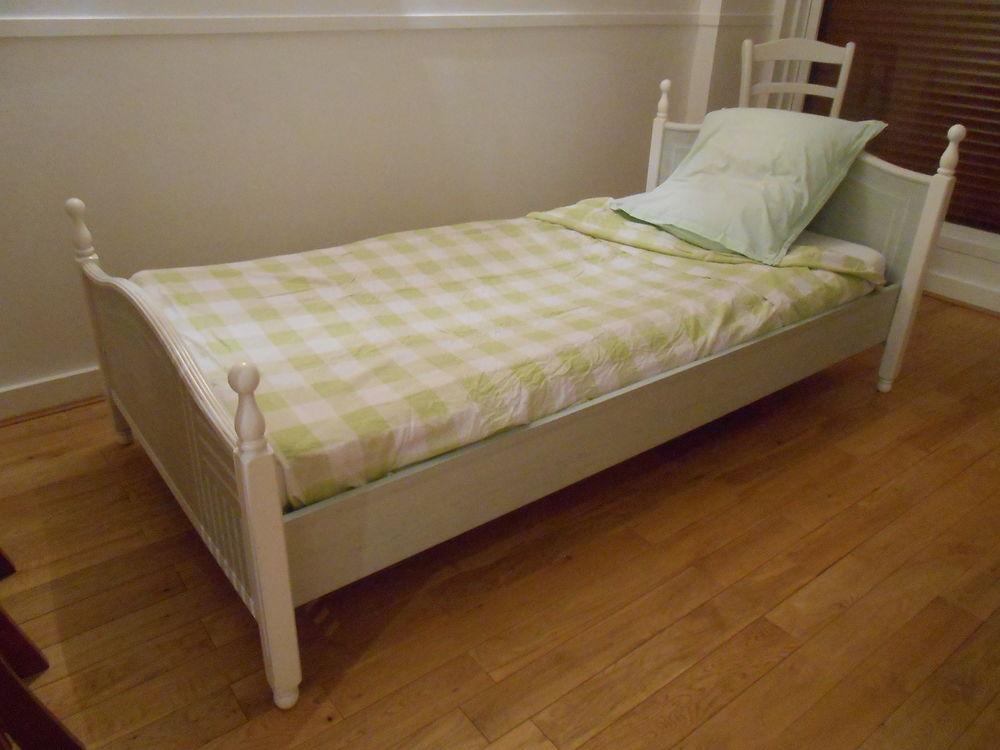 lit d'enfant en 90x190 avec matelas et sommier  120 Saint-Germain-au-Mont-d'Or (69)