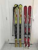 Ski enfant/ado avec bâtons, pantalon Protest 50 Juan Les Pins (06)